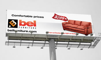 outdoor copywriting billboard marketing