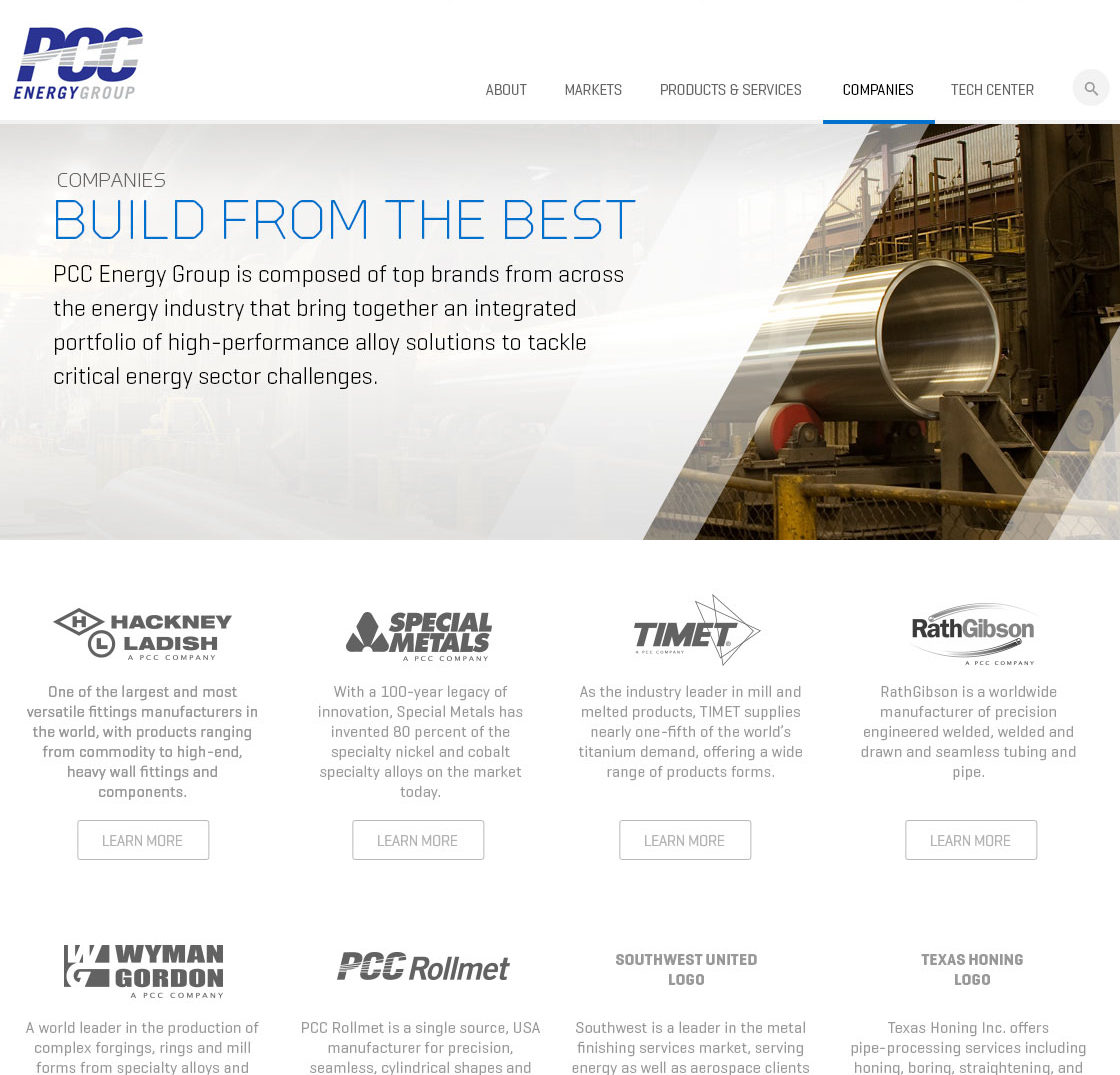 PCC Energy Website